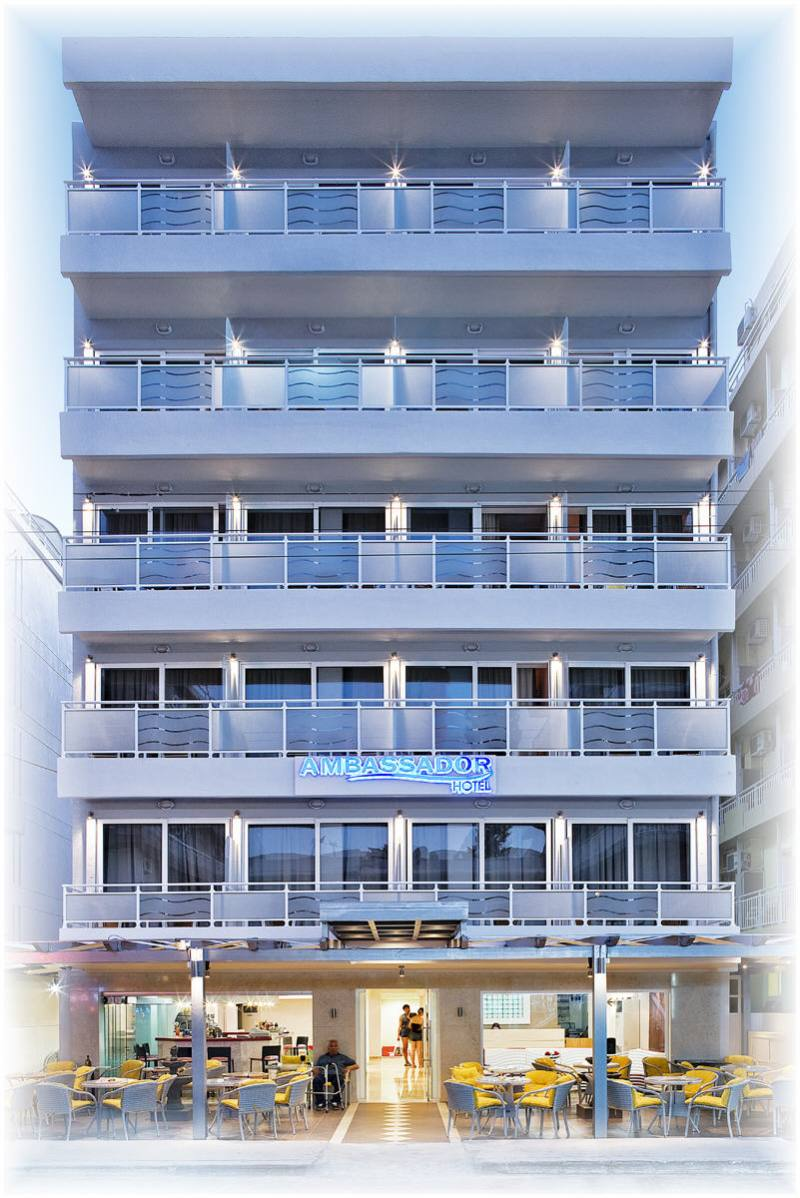 Hotel Ambassador - Rhodos stad - Rhodos